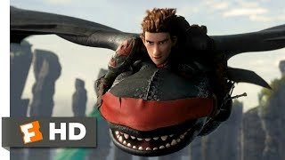 How to Train Your Dragon 2 (2014) - Rescuing Toothless Scene (9/10) | Movieclips