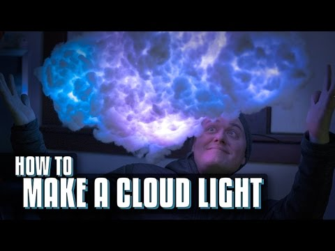 看起來一定很貴的夢幻「雲燈」製作方法居然超簡易,你真的沒看錯…連手殘也能一做就上手!