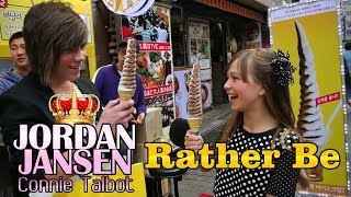 Rather Be - Clean Bandit (Cover by Jordan Jansen ft. Connie Talbot) - YouTube