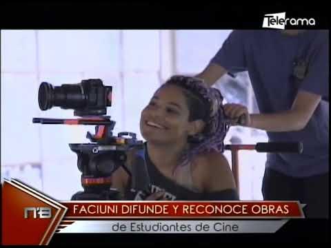 Faciuni difunde y reconoce obras de estudiantes de cine