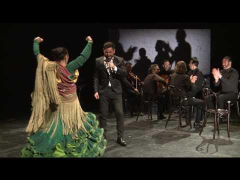 Gala de Inauguración de la V Bienal de Arte Flamenco de Málaga. La Lupi y Miguel Poveda