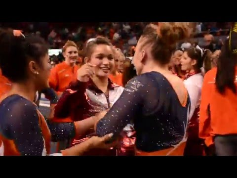 Auborn Gymnasts Finally Beat Alabama