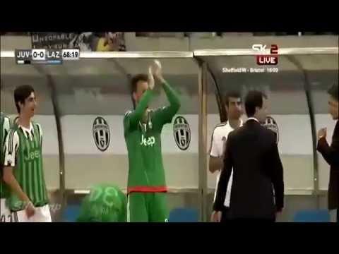 Goal Mario Mandzukic ~ Juventus vs Lazio 1-0 - Supercoppa Italiy - 08-8-2015
