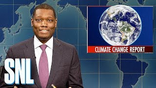 Video Weekend Update: U.N.'s Climate Change Report - SNL MP3, 3GP, MP4, WEBM, AVI, FLV Oktober 2018