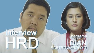 Video Dian Sastrowardoyo diinterview HRD MP3, 3GP, MP4, WEBM, AVI, FLV November 2018
