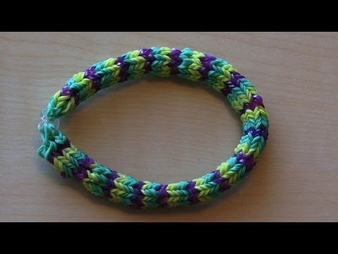 RAINBOW LOOM HEXAFISH BRACELET – HOW TO
