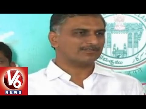 Minister Harish Rao fires on MLA Kishan Reddy over criticizing TRS governance
