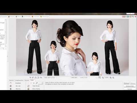 Video 12 de Photoscape: Cómo hacer un blend con Photoscape