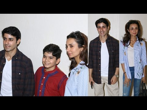 Gautam Rode And Ira Dubey Attend Child Artist Krish Dewan's Play To Support Him