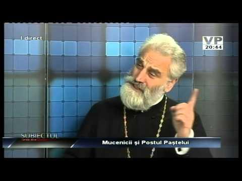 Emisiunea Subiectul zilei – Părintele Ștefan Mușat – 9 martie 2015