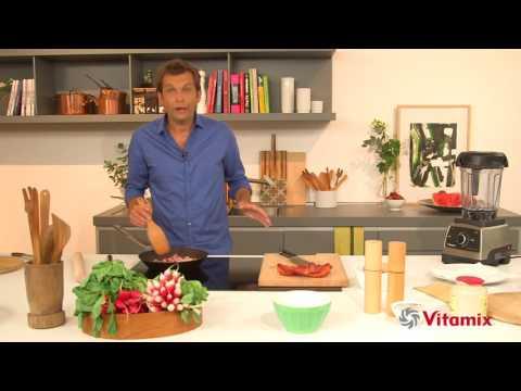 La Quiche Lorraine de Laurent Mariotte, sa recette au Vitamix PRO750