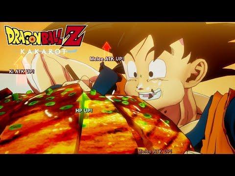 Vidéo sur la progression du personnage de Dragon Ball Z: Kakarot