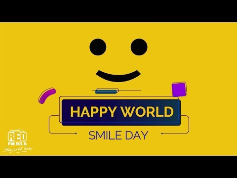 Happy quotes - Happy World Smile Day  The Best Thing You Can Wear is a Smile