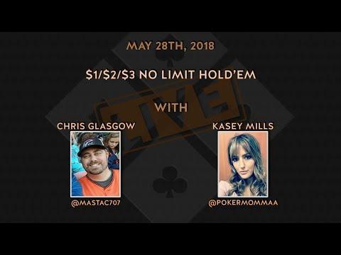 $1$2$3 No Limit Hold'em with Chris & Kasey