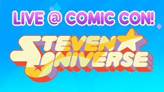 Come join us for a Q&A session with the cast of Steven Universe! Stay a while and ask your burning questions, they may just answer them tonight!