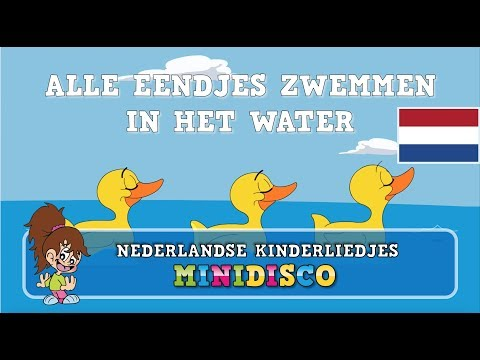 Alle Eendjes Zwemmen In Het Water | Kinderliedjes | Liedjes voor peuters en kleuters | Minidisco