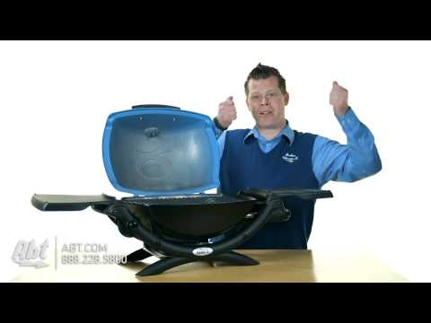 WEBER Q 1200 PORTABLE LP GAS GRILL FEATURES