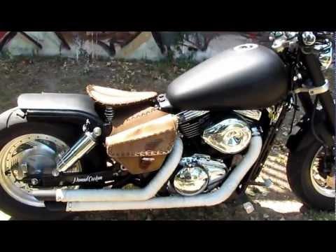 Bobber Suzuki Marauder Vz800 Videos