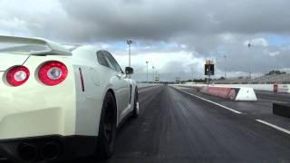 Nissan R35 GTR 9.7@142 (730awhp) Stock Motor