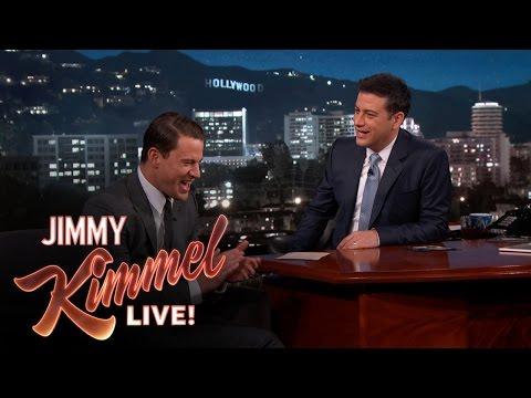 Channing Tatum & Jimmy Kimmel on Their Baby Girls