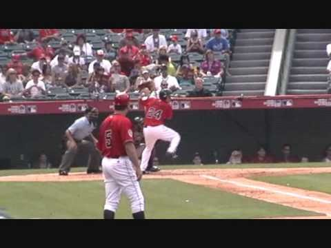 Hank Conger – C – Los Angeles Angels of Anaheim – Futures Game 2010