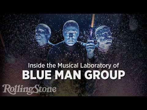 A Look Inside the Strange Musical Laboratory of Blue Man
