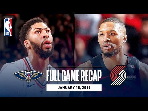 Video: Full Game Recap: Pelicans vs Trail Blazers | Lillard, Layman, and McCollum Combine For 64 Points