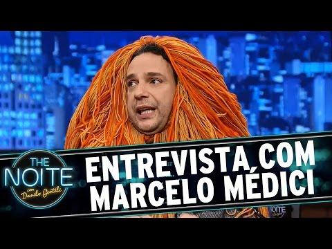 Entrevista com Marcelo Médici no The Noite