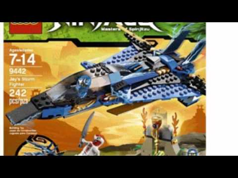 Video Video advertisement for the Ninjago Jays Storm Fighter 9442