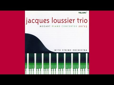 Jacques Loussier Trio – Mozart: Piano Concertos 20/33 with String Orchestra