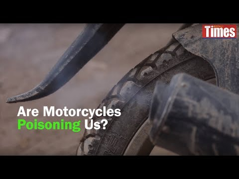 (Are motorcycles poisoning us? - Duration: 2 minutes, 6 seconds.)