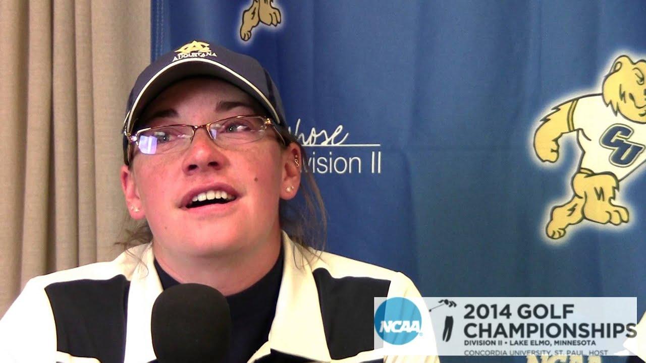 2014 NCAA DII SR 3 Women's Golf: Augustana, Round 3