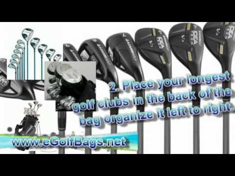 How to Organize Golf Clubs in a Bag