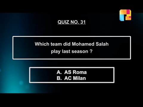 (Mohamed Salah previous club | AS Roma or AC Milan ...113 seconds.)