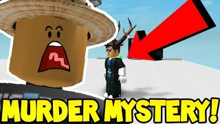 OUT OF MAP GLITCH in ROBLOX MURDER MYSTERY 2!