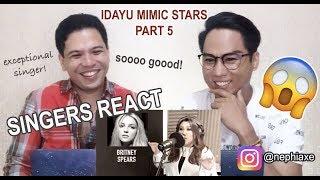 Video VIRAL IDAYU MIMIC STARS - Part 5 | SINGERS REACT MP3, 3GP, MP4, WEBM, AVI, FLV Maret 2019