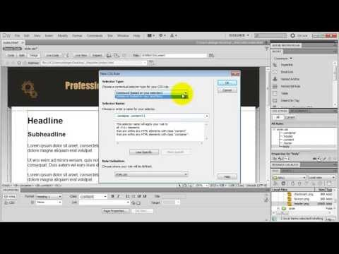 How To Make a Website in Dreamweaver (AMAZING Tutorial!)