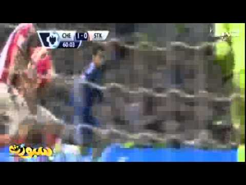 Chelsea vs Stoke City 3 0 ~ All Goals & Highlights 5 4 2014   YouTube