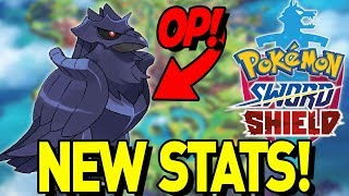 NEW STATS in POKEMON SWORD and SHIELD! COMPETITIVE DISCUSSION for NEW POKEMON! by aDrive