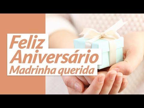 Msg de aniversário - Feliz aniversário para madrinha querida