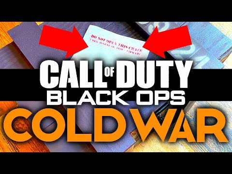 ITS HAPPENING! Activision Sends Mysterious Crate to YouTubers.. (Call of Duty: Black Ops Cold War)
