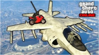 GTA 5 Stunts : HYDRA JET STUNT LANDING! (GTA 5 Online Stunts Gameplay)• Previous GTA 5 Funny moments : https://www.youtube.com/watch?v=utJiKbGpCf8&list=UUm1F9GekuQVNf93XU7-i9kw►Click to sub bro' : https://www.youtube.com/user/RedKeyMon?sub_confirmation=1Yop yop guys, new GTA 5 Stunts with an amazing landing! Enjoy :)►My Twitter : https://twitter.com/RedKeyMon►My Facebook : https://www.facebook.com/RedKeyMonMusic by:Battlefield 3Thanks for your support guys! nothing without you :)Watch my previous GTA 5 Online Funny moments : https://www.youtube.com/watch?v=u9GLKH0hUqc&list=UUm1F9GekuQVNf93XU7-i9kwMy GTA V playlists :• GTA 5 Stunts Montage : http://goo.gl/eJBFyi• GTA 5 Funny moments : http://goo.gl/1ReJ1c• GTA 5 Fails Montage : http://goo.gl/4pLQCG• GTA 5 Stunts Spots : http://goo.gl/wbYuA1As always, leave a like or a comment if you appreciated my video, and feel free to subscribe to my youtube channel if you like my GTA V channel!RedKeyMon ;)