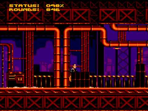 Terminator 2: Judgment Day – Level 8: Steel Mill | Sega Genesis | Mega Drive Playthrough!