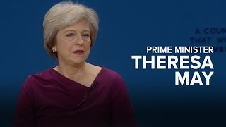 Theresa May: Main Speech to Conservative Party Conference 2016