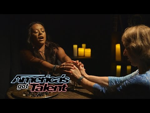 Mel B Pranks the Audience as Psychic Spice – America's Got Talent 2014