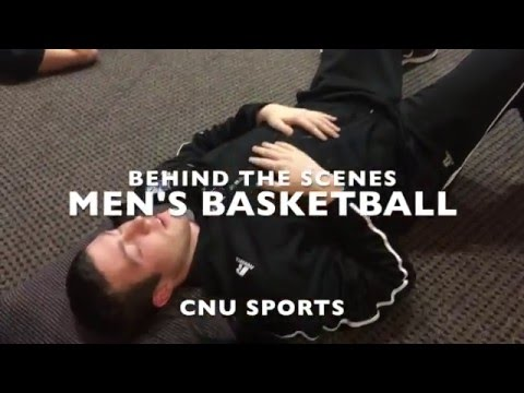 Behind The Scenes: Christopher Newport Men's Basketball
