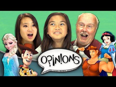 Favorite Disney Movie (REACT: Opinions #1)