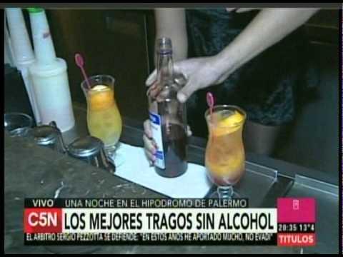 C5N – GASTRONOMIA: VEDA Y TRAGOS SIN ALCOHOL EN EL HIPODROMO DE PALERMO