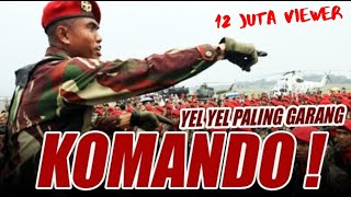 Video Yel Yel KOMANDO terbaru Bikin Merinding!!! MP3, 3GP, MP4, WEBM, AVI, FLV Oktober 2017
