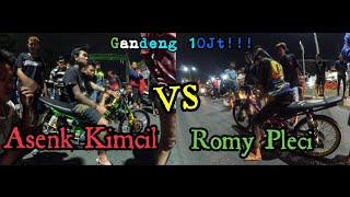 Video ASENK KIMCIL VS ROMY PLECI Gandeng 10jt!!! MP3, 3GP, MP4, WEBM, AVI, FLV November 2018